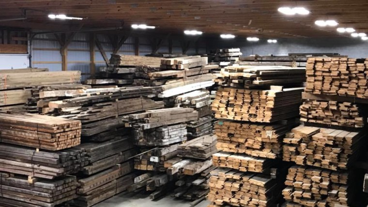 A Hunt for Reclaimed Lumber