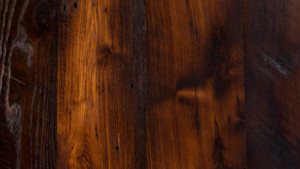 reclaimed skip milled chestnut with oil finish from Rousseau Reclaimed Lumber & Flooring in South Portland, Maine