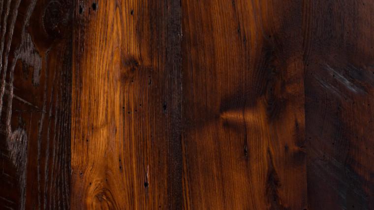Skip Milled Chestnut Barn Board