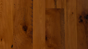 reclaimed beech with oil finish from Rousseau Reclaimed Lumber & Flooring in South Portland, Maine