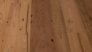 antique chestnut with subtle driftwood finish from Rousseau Reclaimed Lumber & Flooring in South Portland, Maine