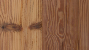 reclaimed mill run heart pine with whitewash finish from Rousseau Reclaimed Lumber & Flooring in South Portland, Maine
