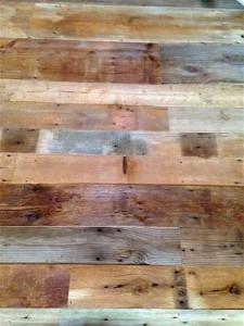 Residential flooring made from reclaimed Bigelow Range lumber in Portland, Maine